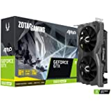 ZOTAC Gaming GeForce GTX 1660 Super amp 6GB GDDR6 192-bit Gaming Graphics Card, Super Compact, Ice Storm 2.0 Cooling, Wraparound Metal Back plate - Zt-T16620D-10M