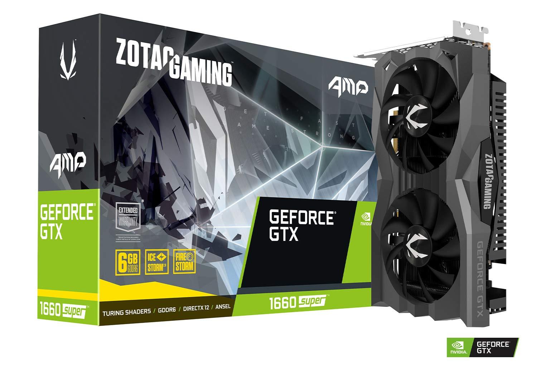 ZOTAC Gaming Geforce GTX 1660 Super AMP Edition
