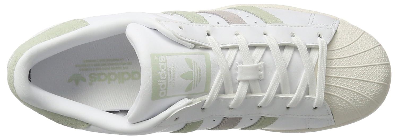 Adidas Damen Superstar W Sneaker, Pur) Silber Weiß (Ftwwht/Lingrn/Ice Pur) Sneaker, 8efef8