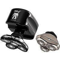 Afeitadora para hombre Skull Shaver Pitbull Gold Plus – Afeitadora eléctrica para cabeza y rostro (Cable de carga USB)