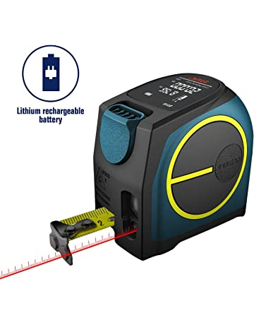 Medidor de distancia láser digital, Medidor de láser recargable Hanmer Medición láser, Mango portátil