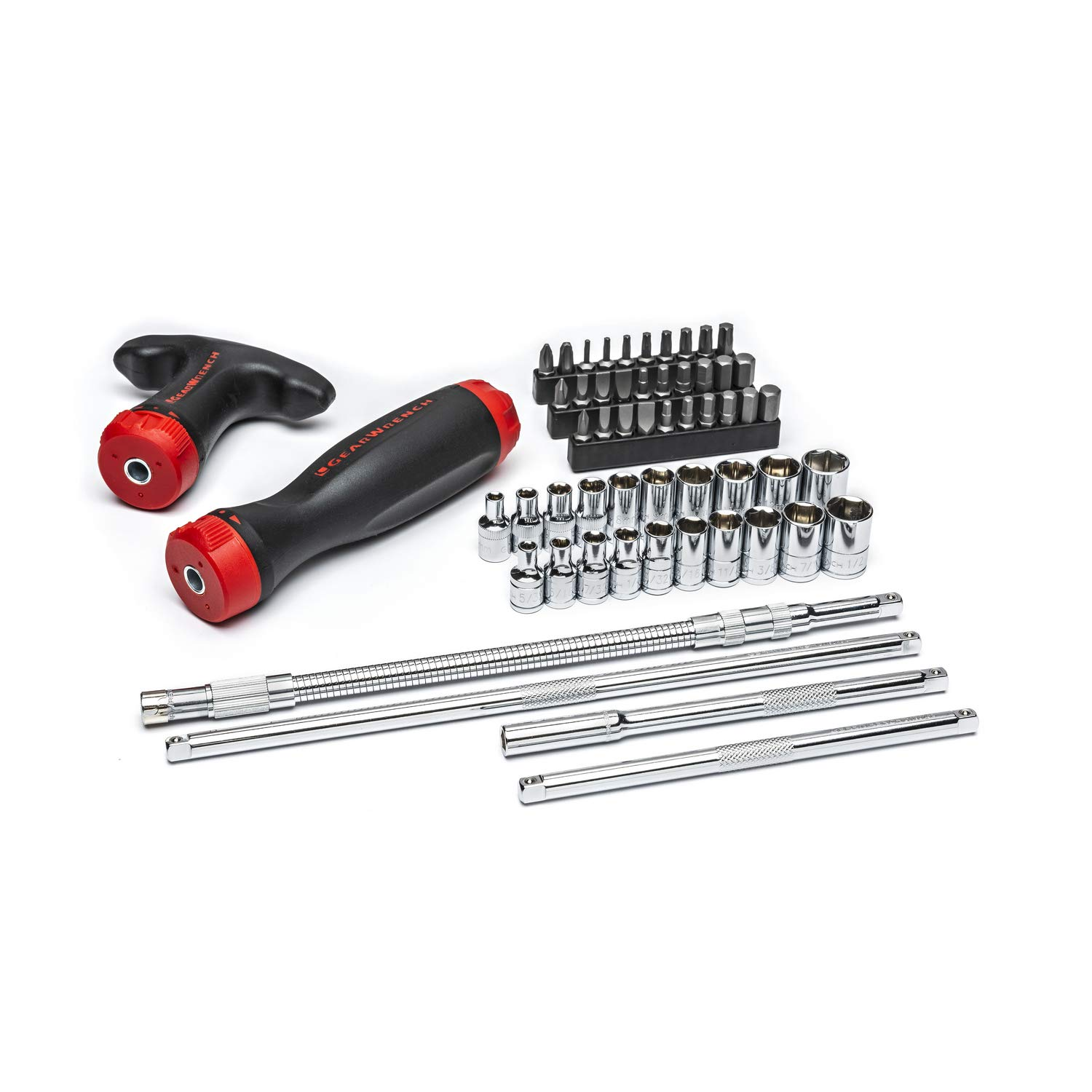 GEARWRENCH 56 Pc. Ratcheting GearDriver Screwdriver Set - 82779 by GearWrench