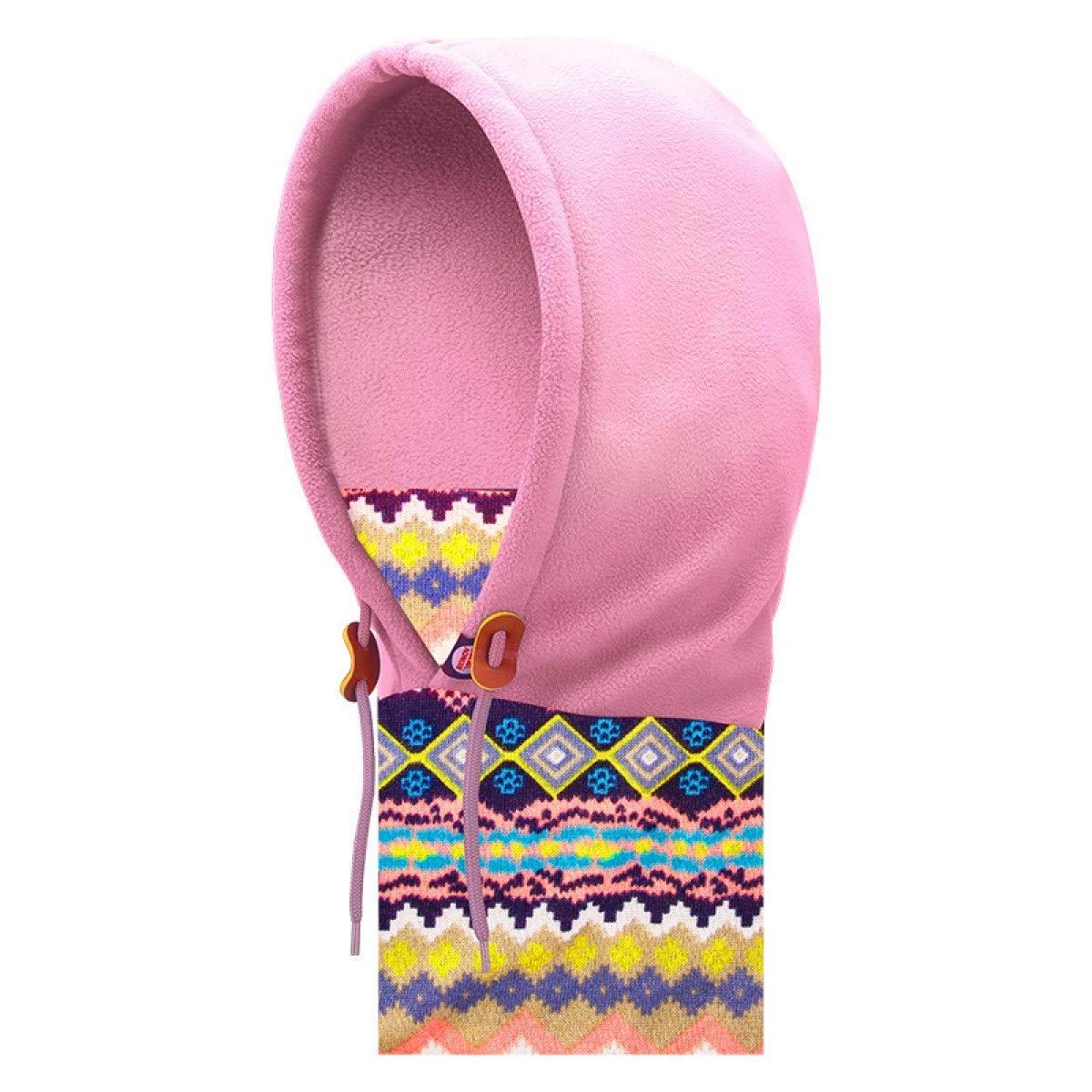 TRIWONDER Kids Fleece Passamontagna Maschera per Maschera da Sci a Clima Freddo Inverno cap Antivento Neck Warmer Cappello a Faccia Piana per Ragazzi Ragazze Toddler