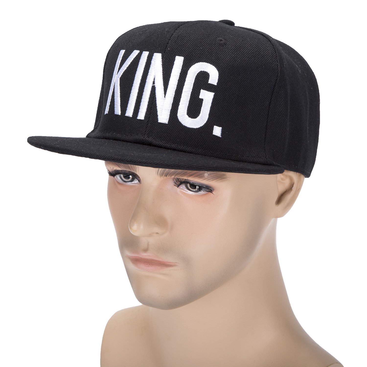 52aa0596a18 KING and QUEEN Lovers Couples Snapback Caps Adjustable Hip-Hop Hats Fashion  Pairs Hat