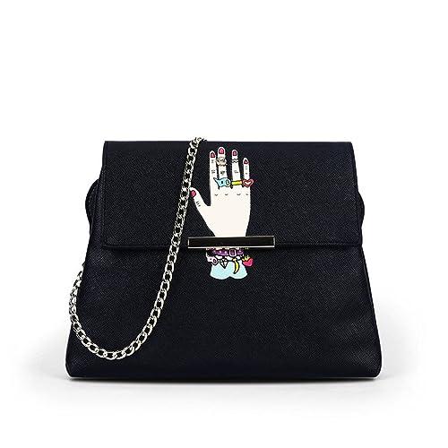 Amazon.com: Melissa lindo bolsos de vidrio dulce pequeño ...