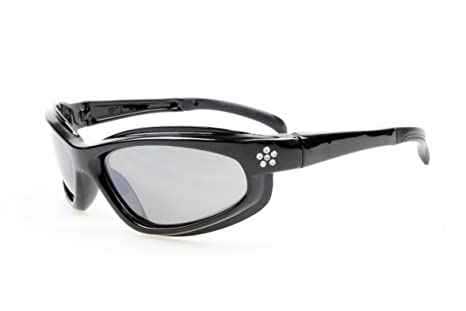 2b94f1e92b Image Unavailable. Image not available for. Color  SSP Eyewear Women s Safety  Glasses with Rhinestone Accent Black Frames and Clear Anti-Fog Shatterproof