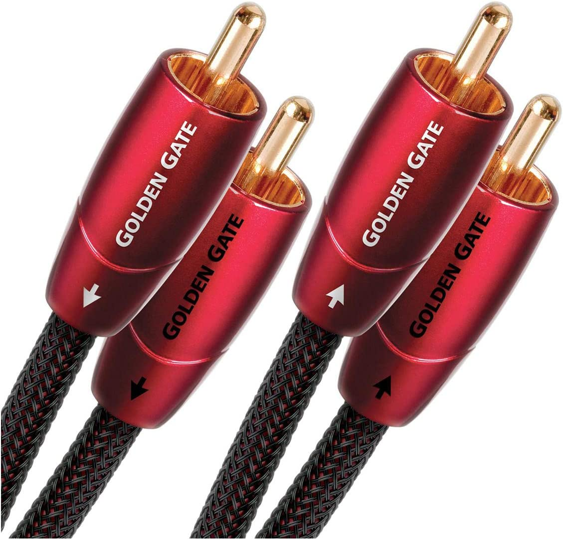 Audioquest Golden Gate Audiokabel Länge 3 0 M Elektronik