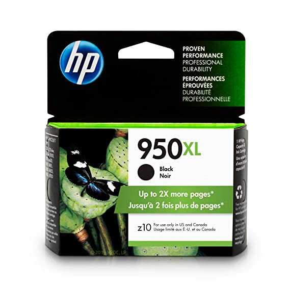 Hp 950 Xl Black Ink Cartridge (Cn045 An) by Hp