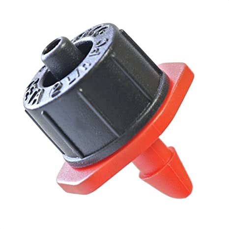 35-Pack Plus Hole Punch Tool and Goof Plugs for Drip Irrigation Systems 2 GPH Netafim Woodpecker Jr Pressure Compensating Dripper Emitters