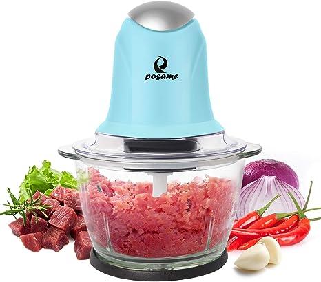 Mini Cortador Picador Verduras Frutas Manual Procesador Alimentos Sin-BPA Licuar
