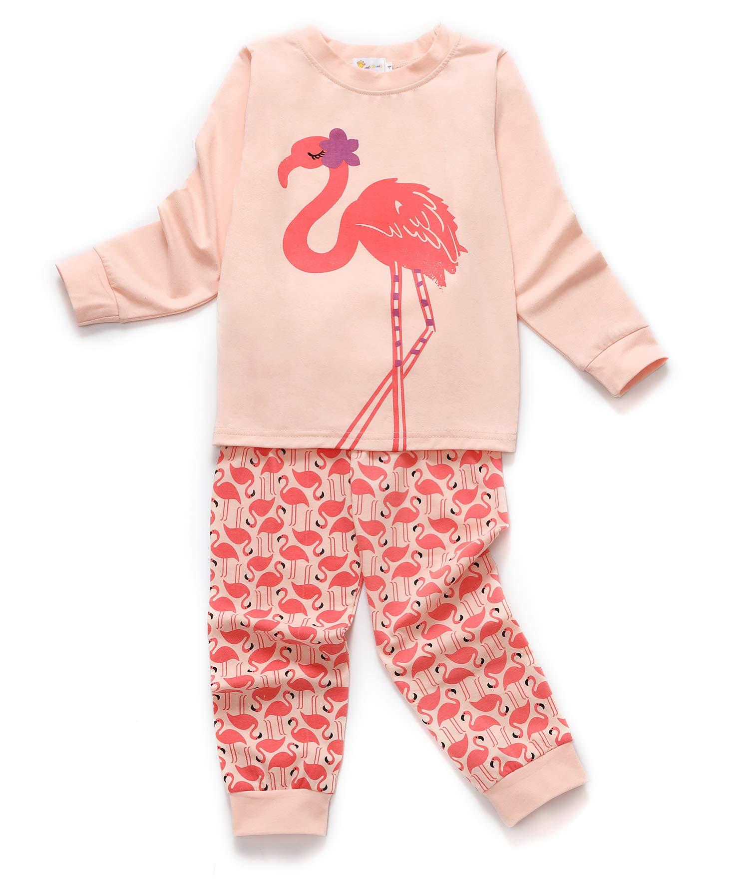 DHASIUE Kids & Toddler Pajamas Girls Little Kids