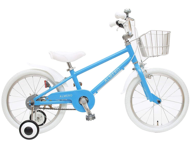 格安販売の 組立済み パステルブルー 18インチ アルメロ アルメロ 軽量アルミフレーム 子供用自転車 B07GX8NJB3 パステルブルー B07GX8NJB3, ハンドメイドケースデパート:387760eb --- senas.4x4.lt