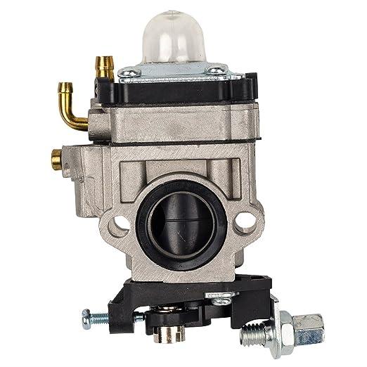 Ingesta carburador para Motor de 2 tiempos 43 cc 49 cc de filtro de colmena 15 mm agujero ATV Pocket Rocket bicicletas Gas Scooter Mini picadora de