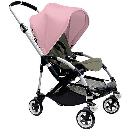 Bugaboo Bee3 Stroller – Soft Pink Dark Khaki Aluminum