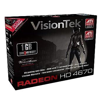 Amazon.com: VisionTek ATi Radeon HD 4670 1 GB DDR3 PCI ...