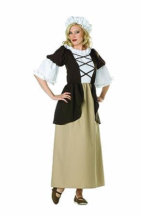 RG Costumes Womenu0027s Colonial Peasant Lady Brown/Tan 2-4/Small  sc 1 st  Amazon.com & Amazon.com: RG Costumes Womenu0027s Colonial Peasant Lady: Clothing