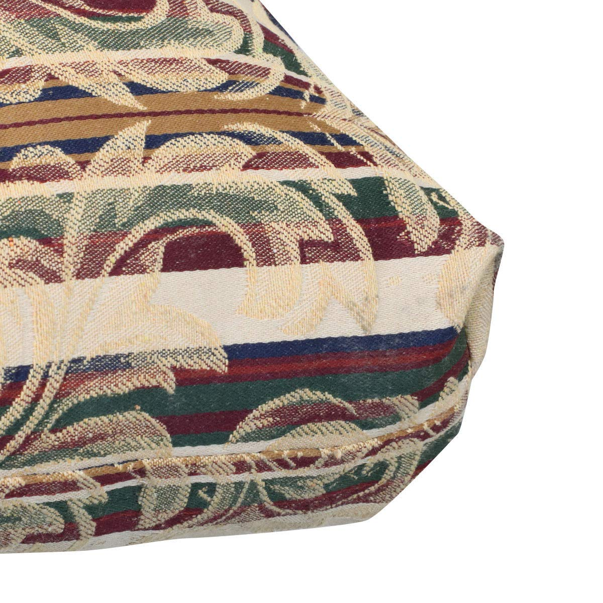 Prettyshop4246 Set of 2 Pcs Indoor Outdoor Wicker Warm Cushion Seat Pad Poolside Home Garden Patio Backyard Balcony Linen Fabric Made in USA Product Soap Maintain Easy Clean Brown Tone Color by Prettyshop4246 (Image #9)