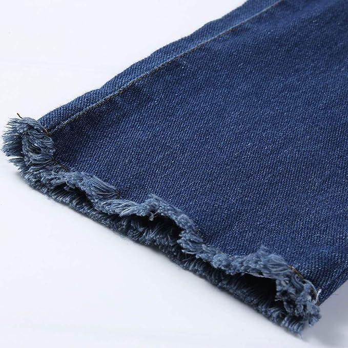 NPRADLA Vaqueros Jeans Tendencia 2018 Mujeres Otoño Elastic ...