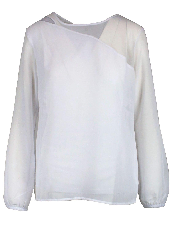 Patrizia Pepe Women's 1M3901A5W8W103 White Polyester Sweater