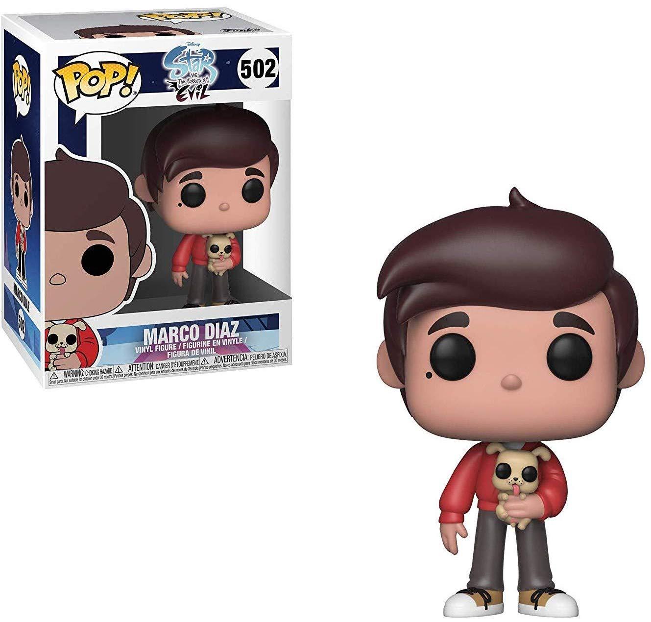 The Forces of Evil Vinyl Figure Disney: Star vs Marco Diaz Funko Pop Includes Compatible Pop Box Protector Case