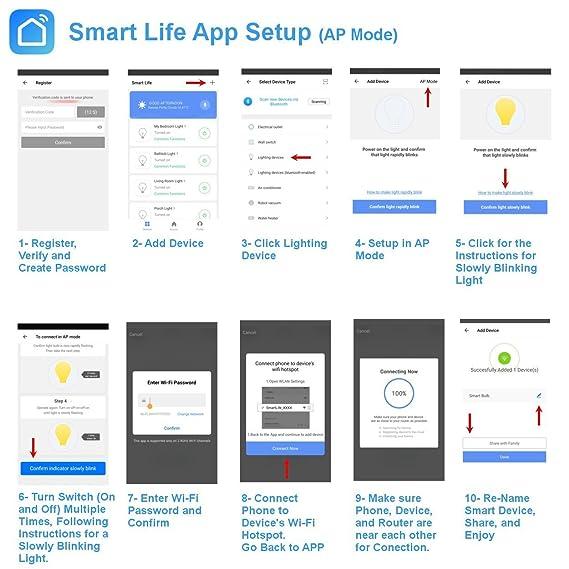 VeriSmart Wi-Fi LED Smart Light Bulb, Voice Controlled with Google