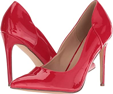 Amazon.com: Steve Madden - Zary para mujer, Rojo, 8 M US: Shoes