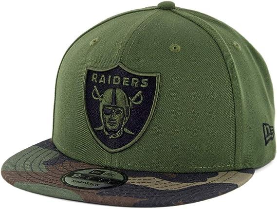 New Era Camo 9Fifty Oakland Raiders Cap camo