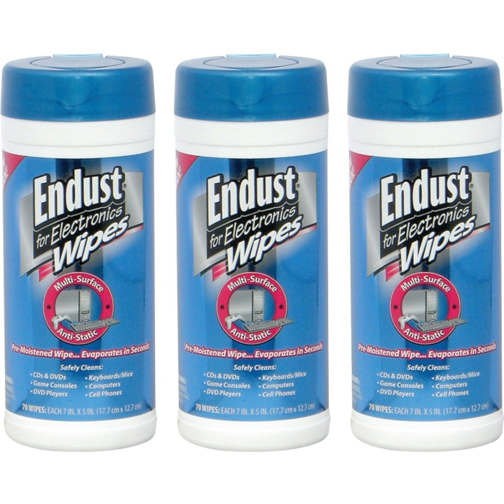 Endust 259000 Anti-static Pop-up Wipes 70 Count 3 Pack Home, garden & living