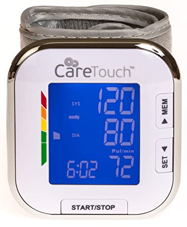 Amazon.com: Care Touch Fully Automatic Wrist Blood Pressure ...