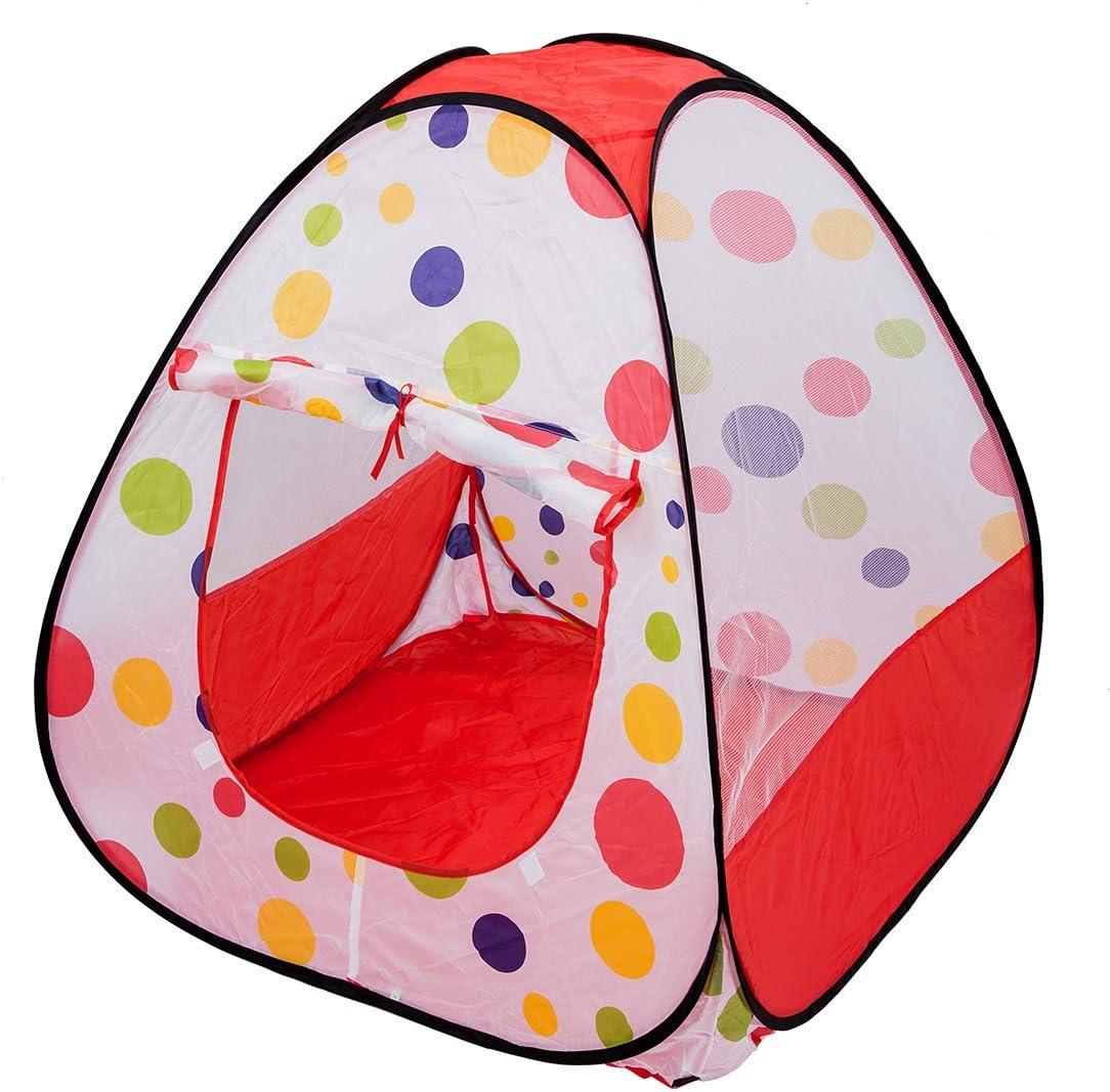 Cadeau de Noel Colore Maison des Jeu pour Les Bebes,Chateau pour Les Enfants Princesse Tente lexterieur et Interieur Gaoominy Tente Ultralarge de Plage pour Les Enfants