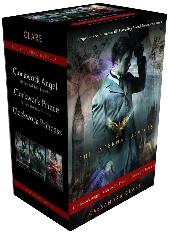 Amazon: The Infernal Devices: Clockwork Angel; Clockwork Prince; Clockwork  Princess (9781481416825): Cassandra Clare: Books