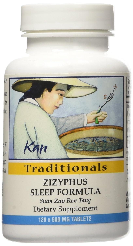 Amazon.com: Kan Herbs - Zizyphus Sleep Formula 120 tabs: Health & Personal Care