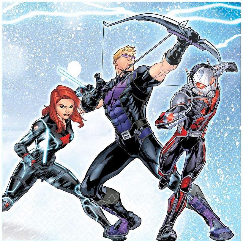 Amazon.com: Avengers Superhero Kit de fiesta de cumpleaños ...