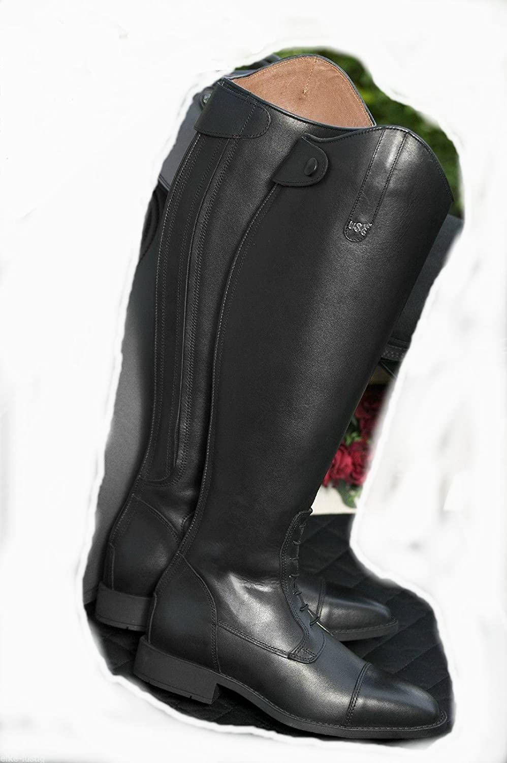 United Sportproducts Germany USG 12050009-440-212 Reitstiefel, schwarz, Gr. 40, SW 39, H 47