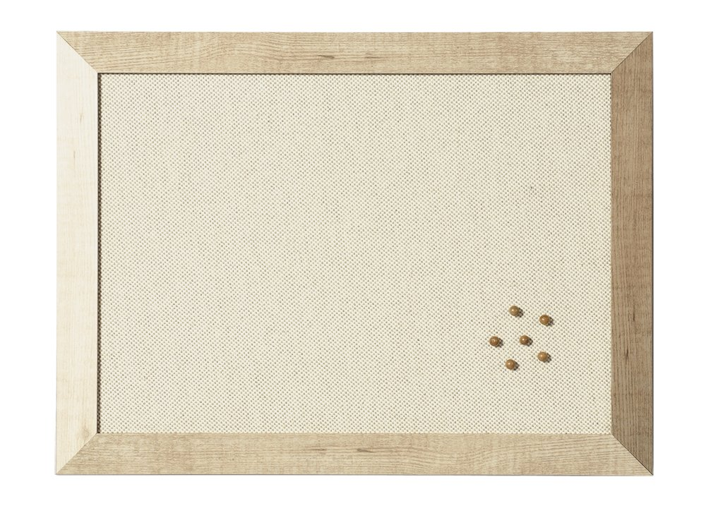 Bi-Office FB071281222 Pannello Kamashi Tessuto, 900 x 600, Bianco Bi-Silque