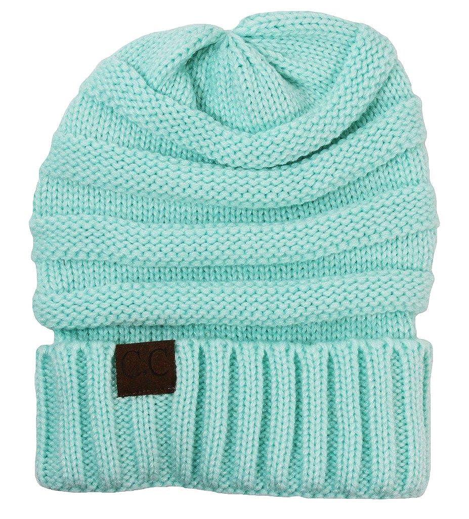 9e2d60a9c20 Amazon.com  Wholesale Princess Women s Crochet CC Beanie - Aqua  Clothing