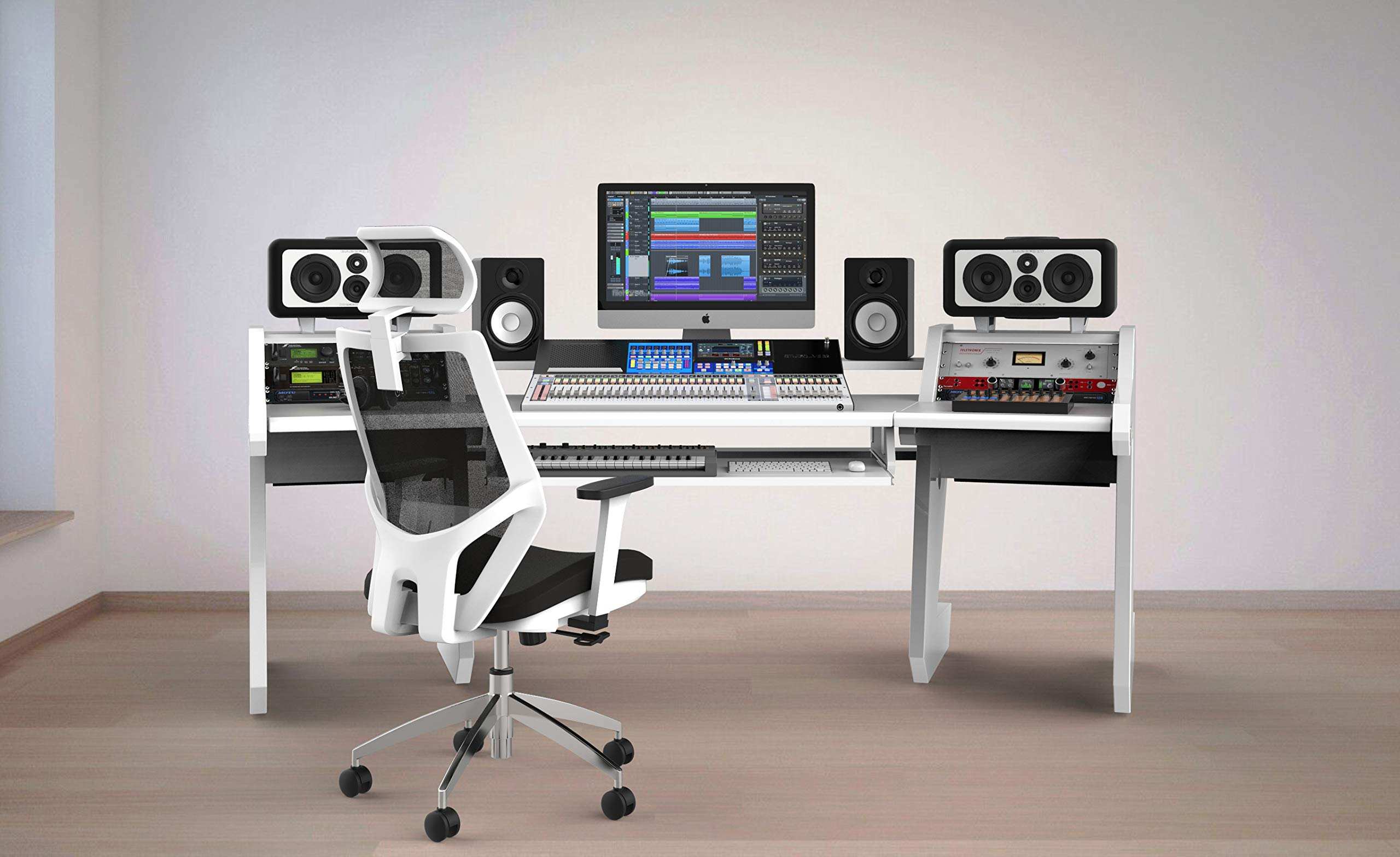 PRO LINE Classic SL Desk White by StudioDesk