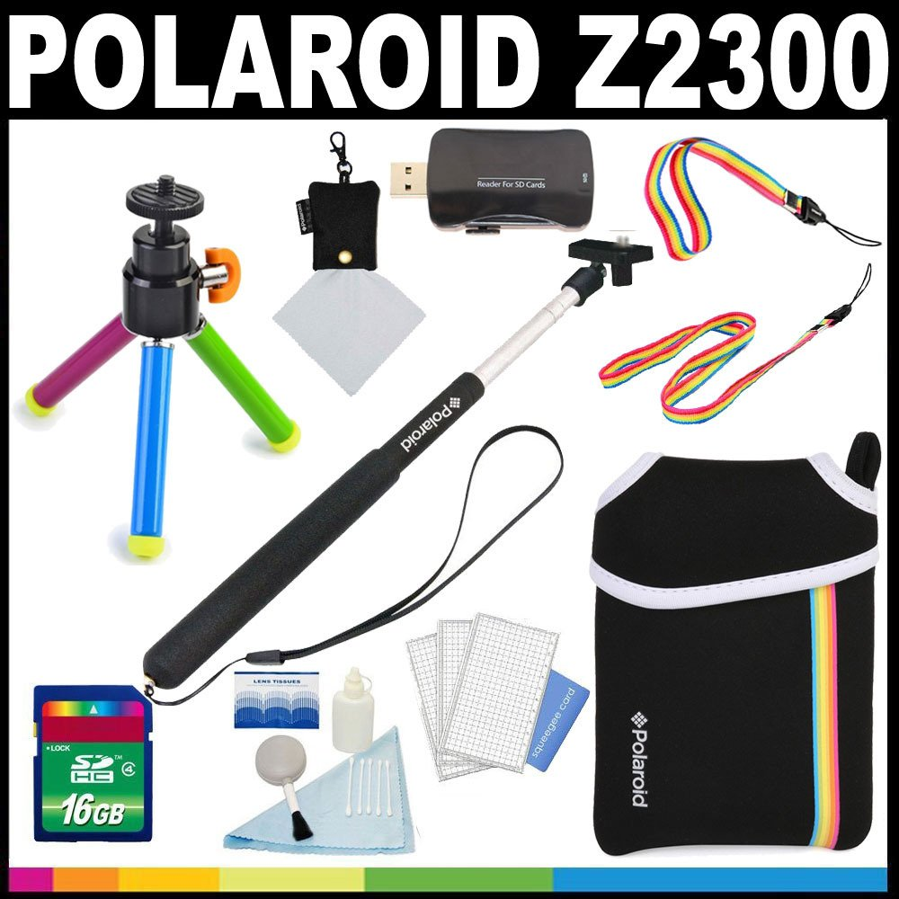 Polaroid Deluxe ESSENTIAL KIT For The Polaroid Z2300 Instant Print Camera - Great Add On Package