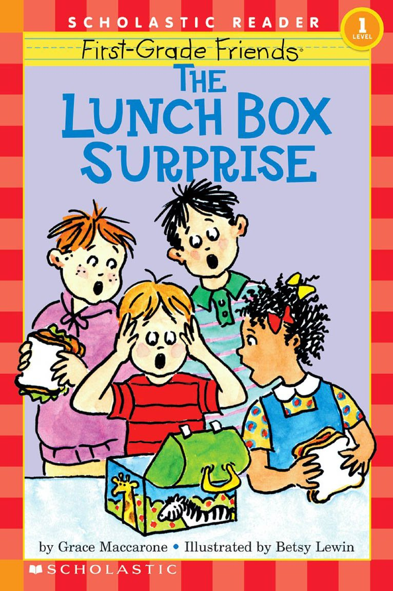Worksheet First Grade the first grade friends lunch box surprise hello reader level 1 grace maccarone betsy lewin 9780590262675 amazon com bo