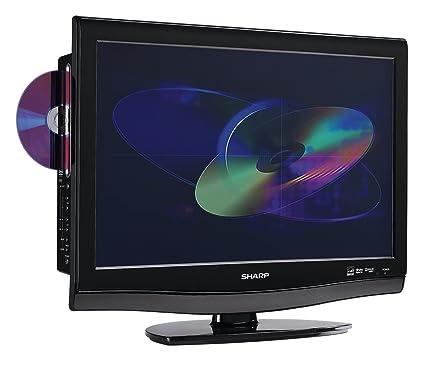 Amazon.com: Sharp LC22DV27UT 22-Inch LCD HDTV with Built-In DVD ...