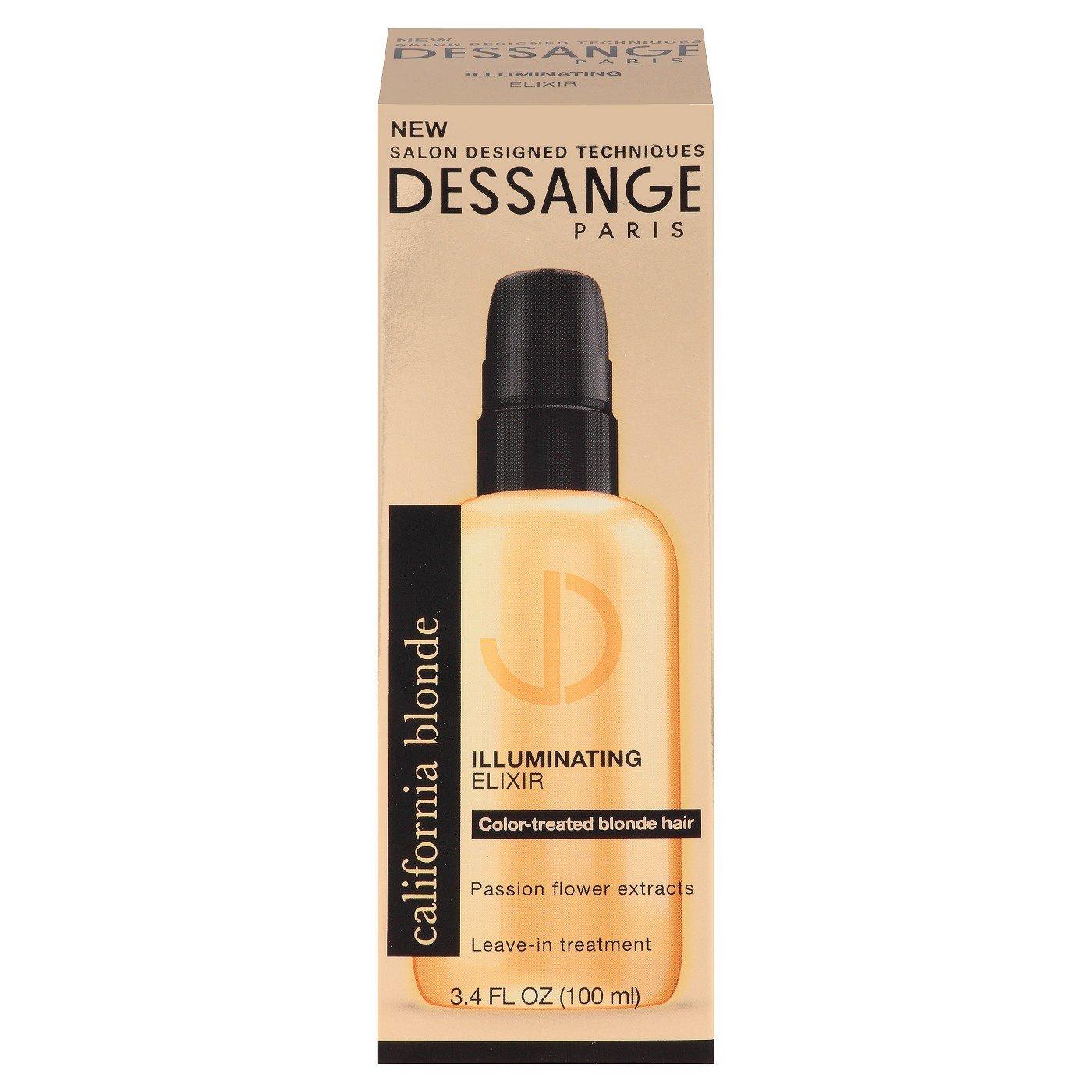 Salon Exclusive Techniques Dessange Paris Illuminating Elixir Leave-in Treatment 3.4 Oz by Dessange Paris
