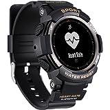N NEWKOIN Reloj Inteligente Deportivo reloj inteligente multifunción pulsera compatible con Android iOS IP67 reloj inteligente a prueba de agua