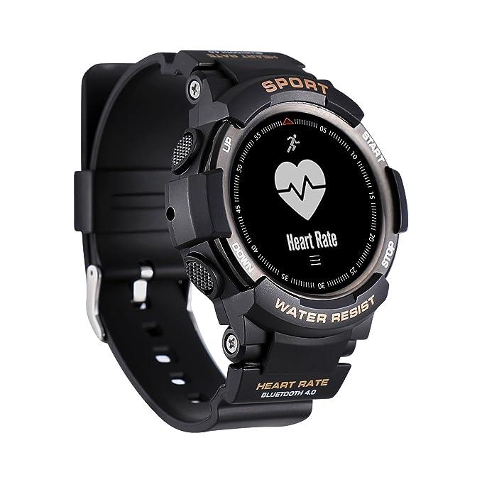 N NEWKOIN Reloj Inteligente Deportivo reloj inteligente multifunción pulsera compatible con Android iOS IP68 reloj inteligente a prueba de agua: Amazon.es: ...
