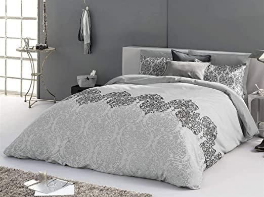 Antilo - Funda nórdica Amara Cama 135 Cm - Color Gris ...
