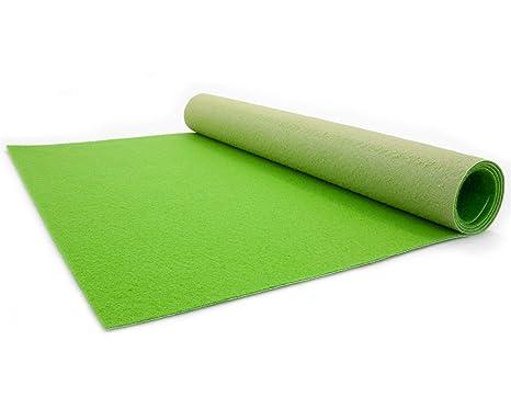 Prima flor di idee in tessile tappeto passatoia verde chiaro