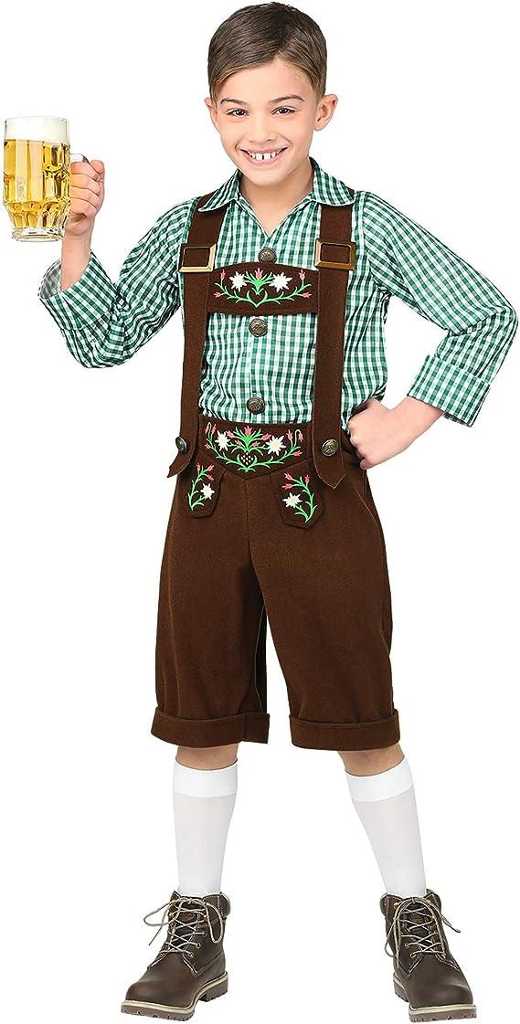 WIDMANN Disfraz de Tirolés Mirko para niño L-(11/13 años): Amazon ...