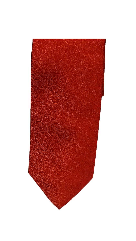 Robert Talbott Red Tonal Floral Heritage Best of Class Tie