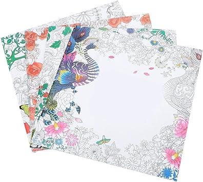 Zouminyy Libro para Colorear para niños Hermosos, Libro