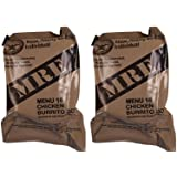 MREs (Meals Ready-to-Eat) Genuine U.S. Military Surplus Assorted Flavor (2-Pack)