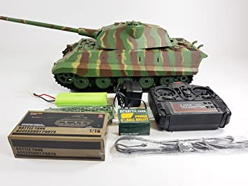 Radio Control Model Toy Heng Long 1 16 Scale German King Tiger 2